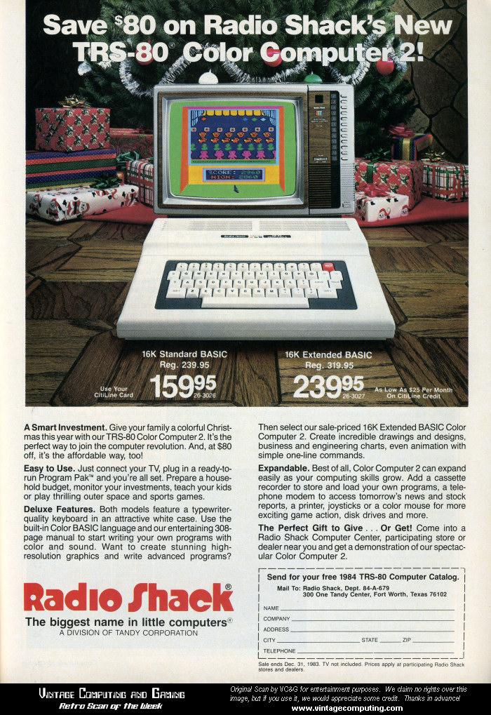 Trs 80 Color Computer 2