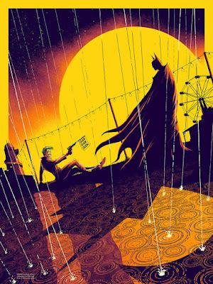 "New York Comic Con 2016 Exclusive Batman ""The Killing Joke"" Screen Print by Matt Ferguson x Bottleneck Gallery"