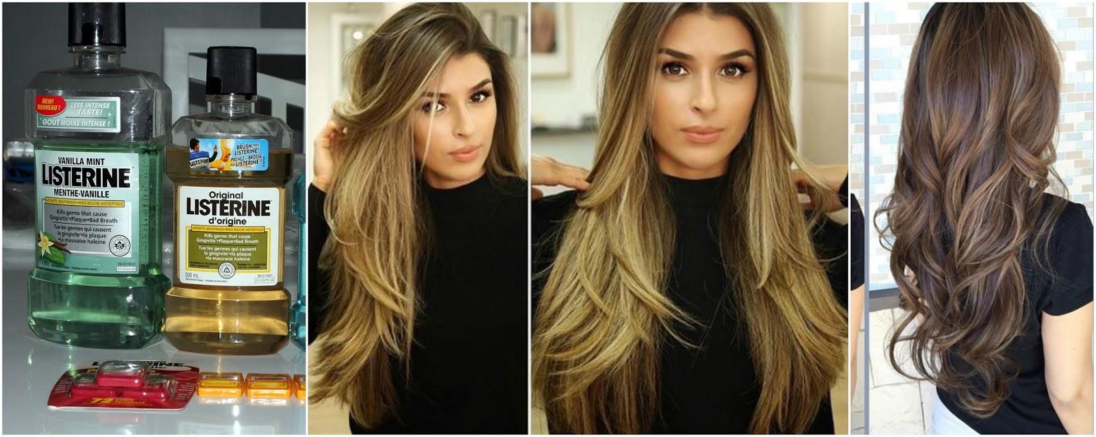 RListerine cabello