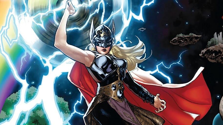 Thor, Jane, Foster, Marvel, Superhero, 4K, #6.1178