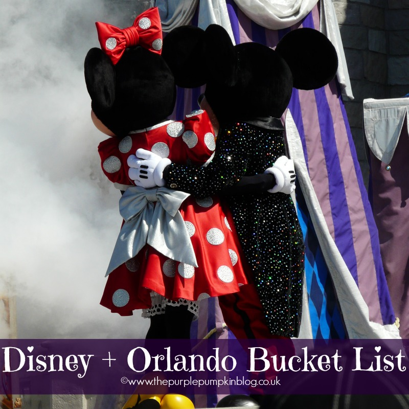 Our Disney + Orlando Bucket List – Updated 2015