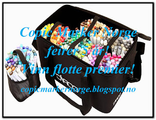 Copic Marker Norge blogghopp sept.2016