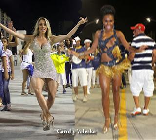 Carol Narizinho Ensaya para Carnaval