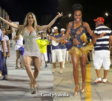 Carol Narizinho Ensaya para Carnaval 2014