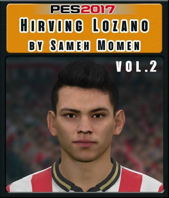 Hirving Lozano Face PES 2017