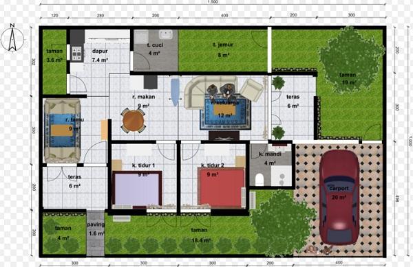 Gambar Denah Rumah Minimalis Sederhana Terbaru Gambar Denah Rumah Minimalis Sederhana Terbaru