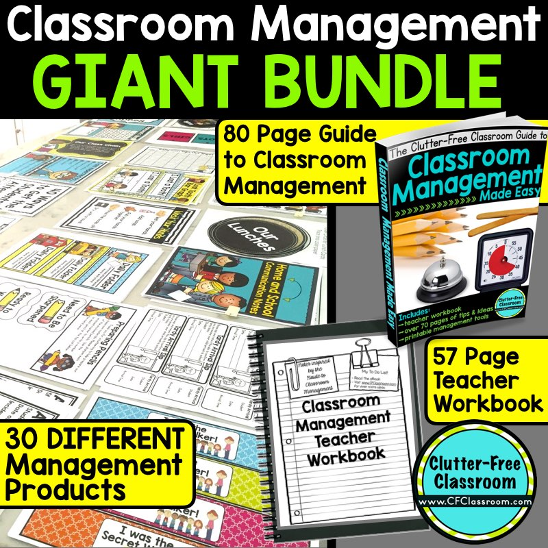 August 2016 clutter free classroom teachers can improve classroom management by creating a system for managing student assignments this article fandeluxe Choice Image