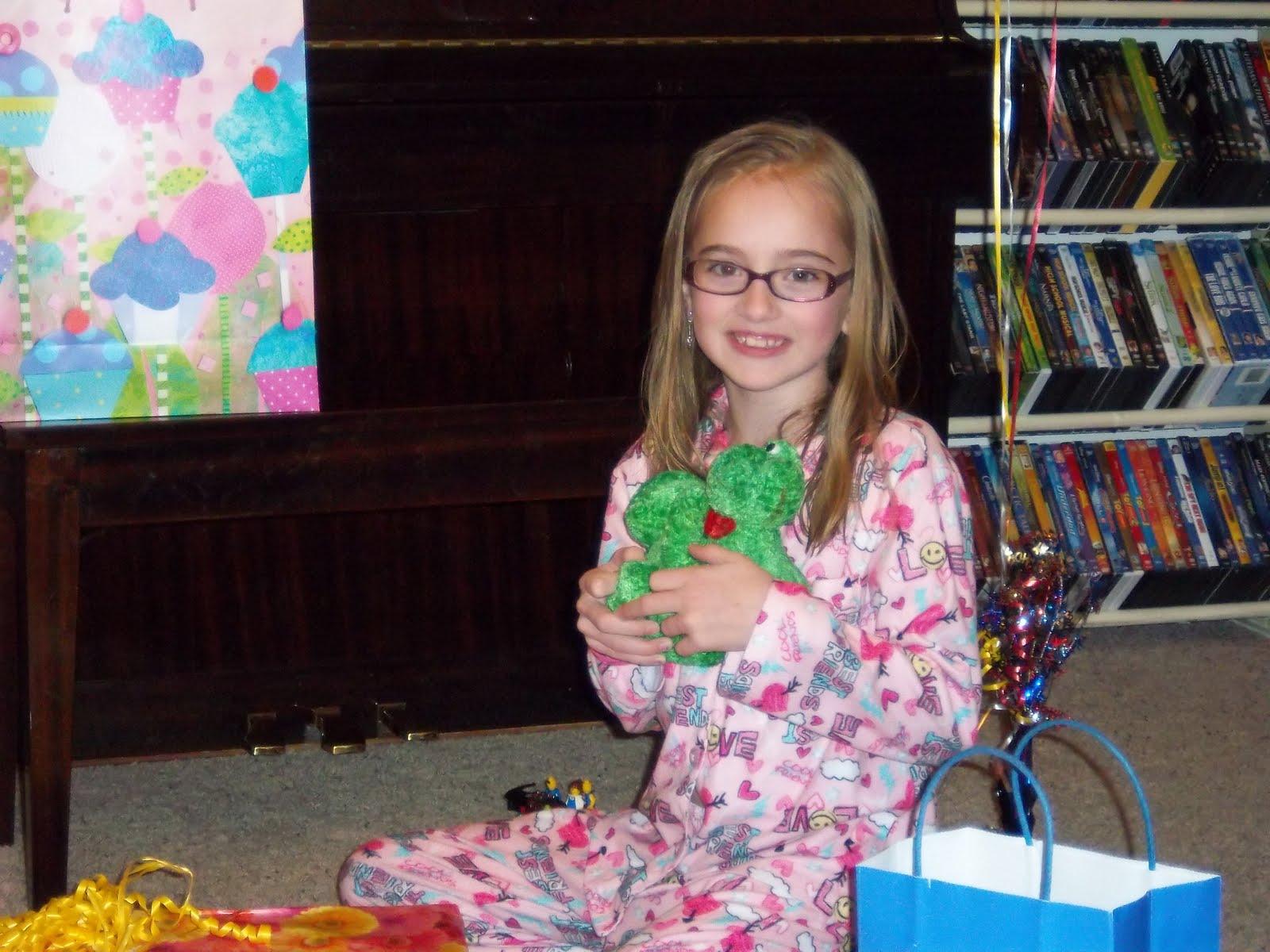 Birthday girl loves her sexy gift - 4 7