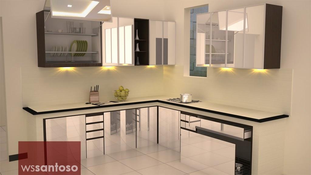 Bentuk Ruang Dapur Pilihan 10