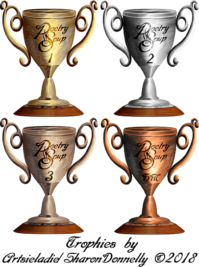PoetrySoup Trophies by/copyrighted to Artsieladie