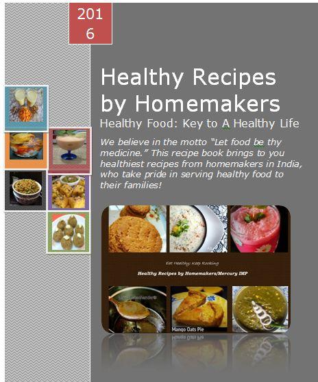 Mercury Information Management Platform Healthy Meals Cookbook A