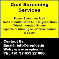 Coal Screening Services, Power Screens for Coal, Coal Screeners, Screening of Coal, Screeners on Rent for screening, Power Screen Plant, Track mounted, wheel mounted