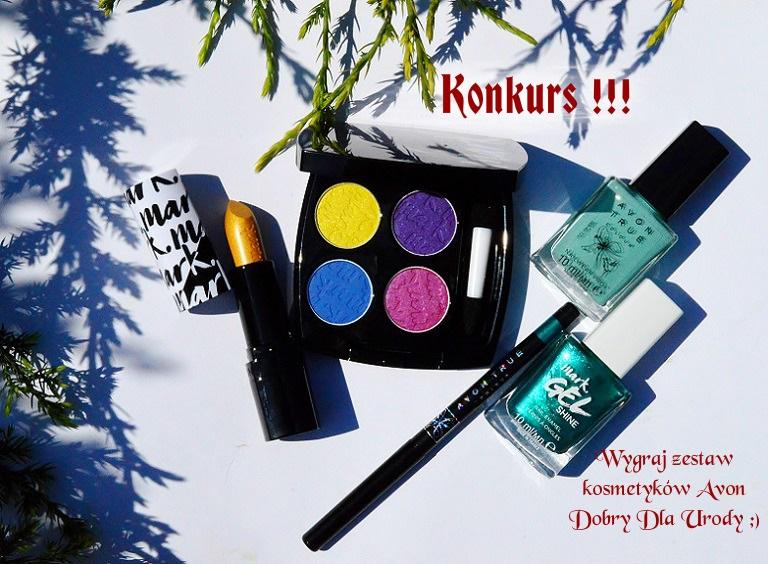 KONKURS!!! Wygraj zestaw kosmetyków do makijażu Avon!