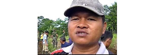 Warga Desa Tetangga Yang Komitmen Akan Rawat Jalan TMMD