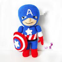 capitan-america-amigurumi