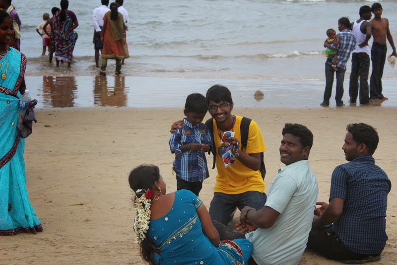 Firefox at velankanni beach | supporting you makes me feel