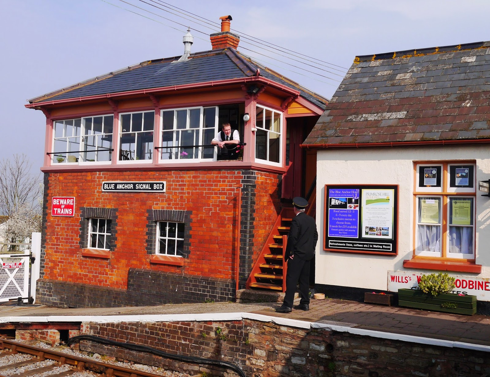 Blue Anchor Signalbox