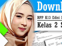 Download RPP K 13 Edisi Revisi 2017 Kelas 2 SD/MI
