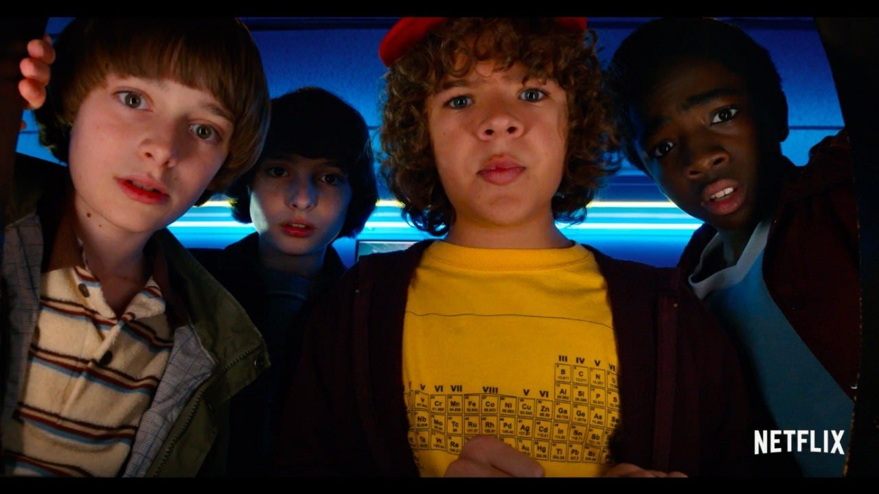 Stranger Things Season 01-02 All Episodes [Hindi-English] {720p 300Mb}