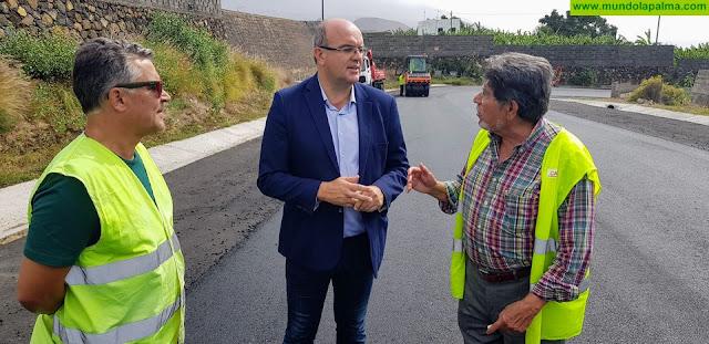 Las obras de repavimentación de la carretera de El Time arrancan el miércoles