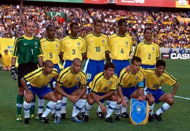 Formación de Brasil ante Chile, Copa del Mundo Francia 1998, 27 de junio