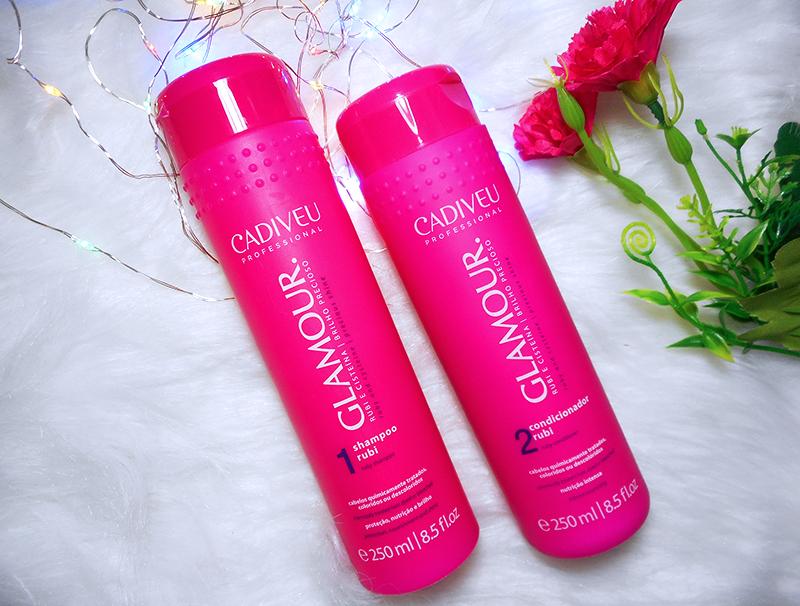 Resenha Shampoo e Condicionador GLAMOUR - CADIVEU