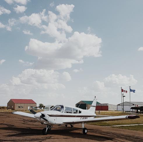 Hanna Alberta Airport