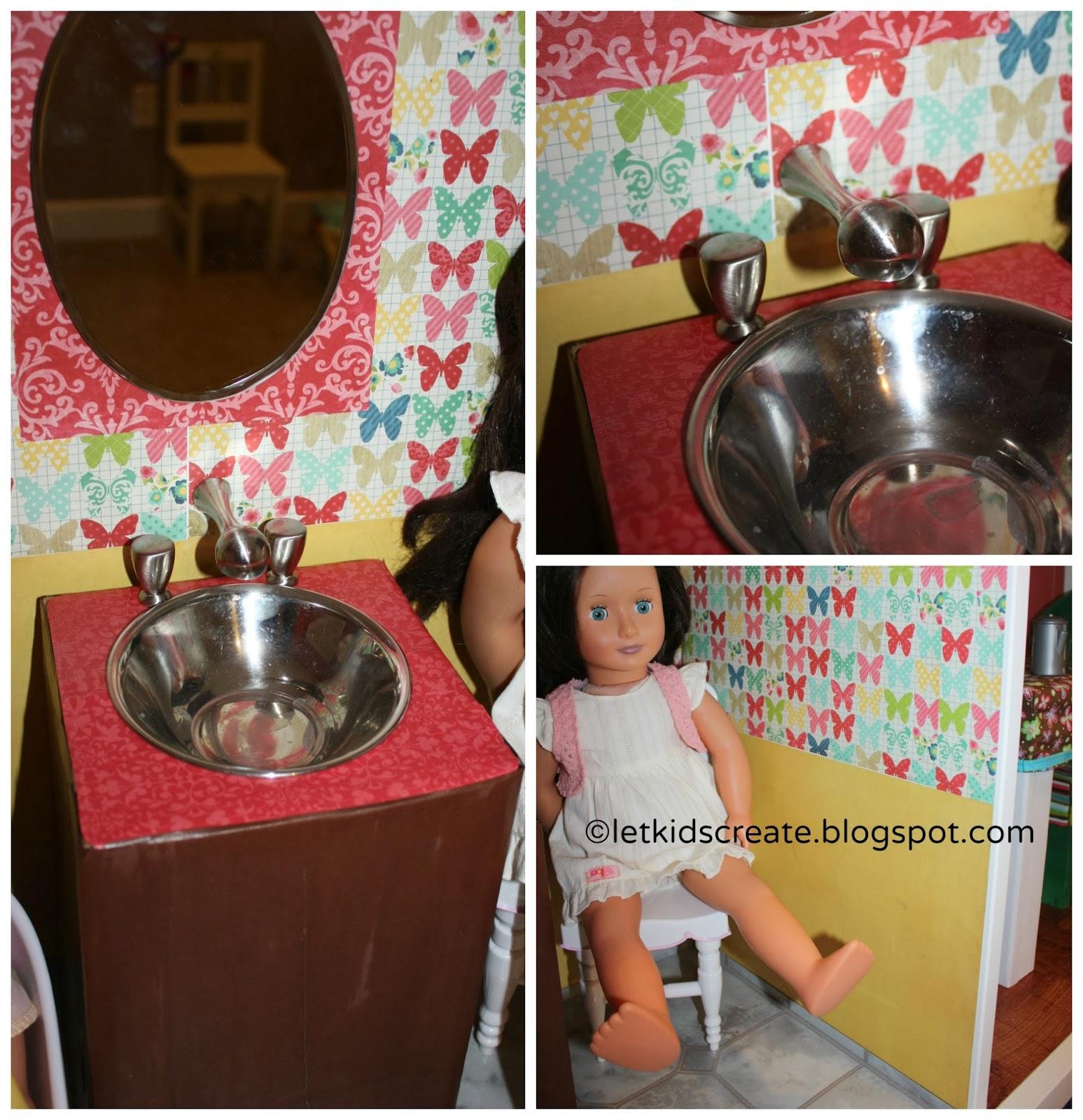 Let Kids Create American Girl Dollhouse
