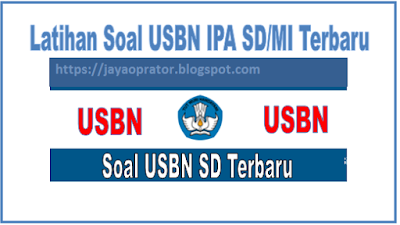 Download Latihan Soal USBN IPA SD/MI 2019/2029