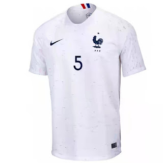 France 2018 world cup away kit