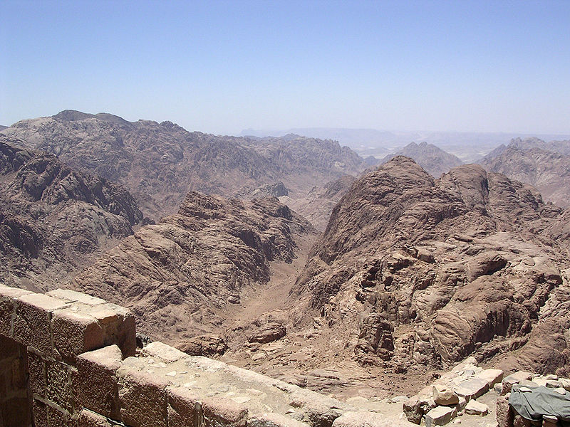 Image result for mount tur and sinai same?