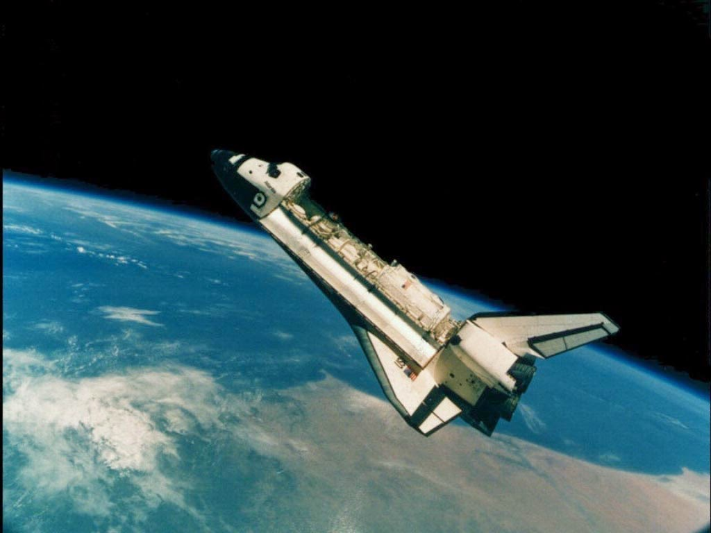 hd space shuttle in space - photo #16