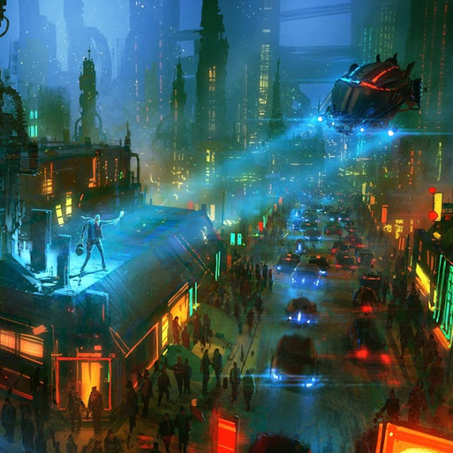 Cyber City Wallpaper Engine