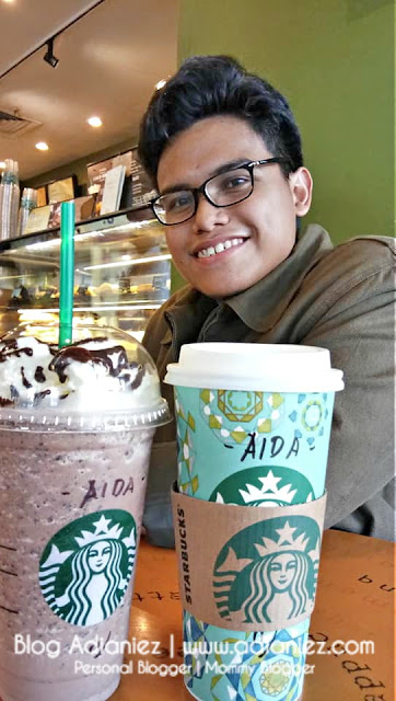 Aida Layan Kopi Starbucks