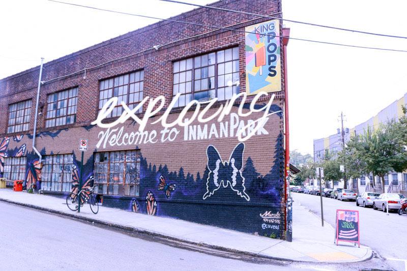 Inman Park mural