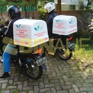 Box delivery motor jogja obat