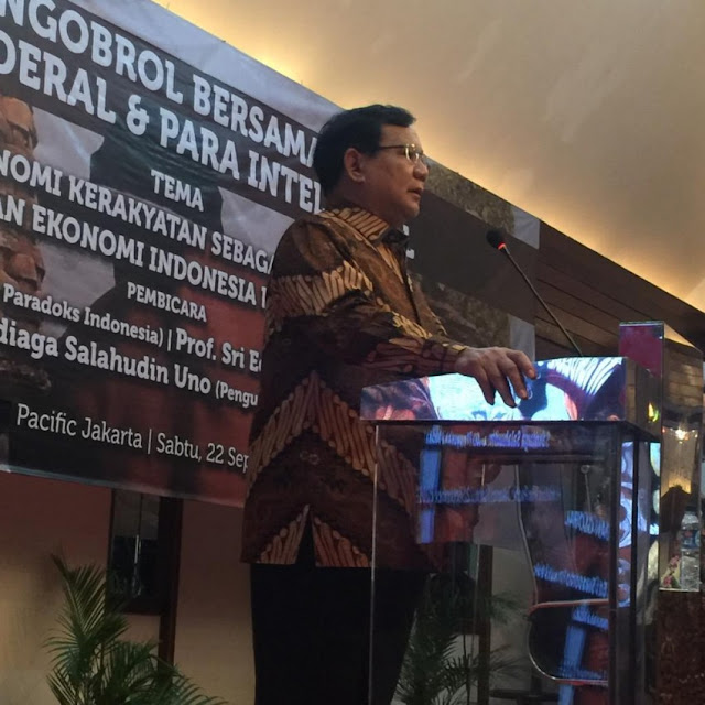 Prabowo: Saya Rela Mati demi Selamatkan Indonesia