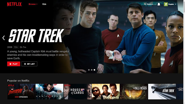 Star Trek in catalogul Netflix din Romania