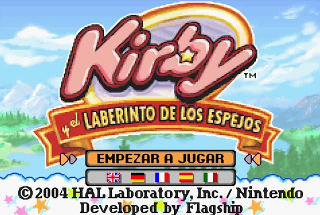 Kirby & the Amazing Mirror - Español - Captura 1