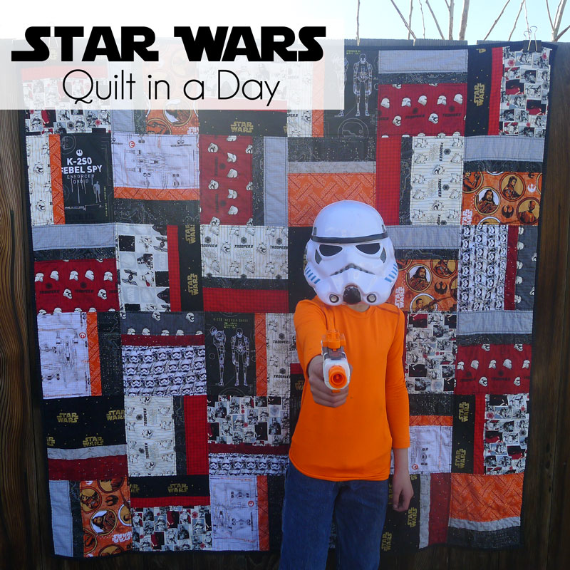 Pieces By Polly Star Wars Quilt In A Day
