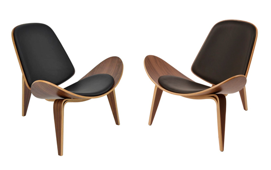 Blog de mbar muebles la silla shell ch07 de hans j for Butaca diseno online