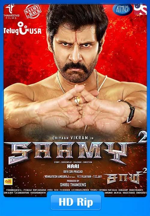 Saamy 2 2018 Malayalam 720p HDRip x264 | 480p 300MB | 100MB HEVC