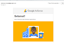 Rahasia Approved Google Adsense