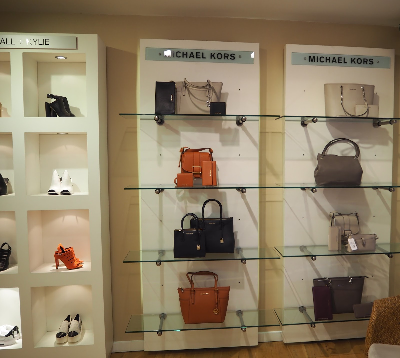 Designer labels, Michael Kors, Kendall and Kylie at Jules B, Kendal
