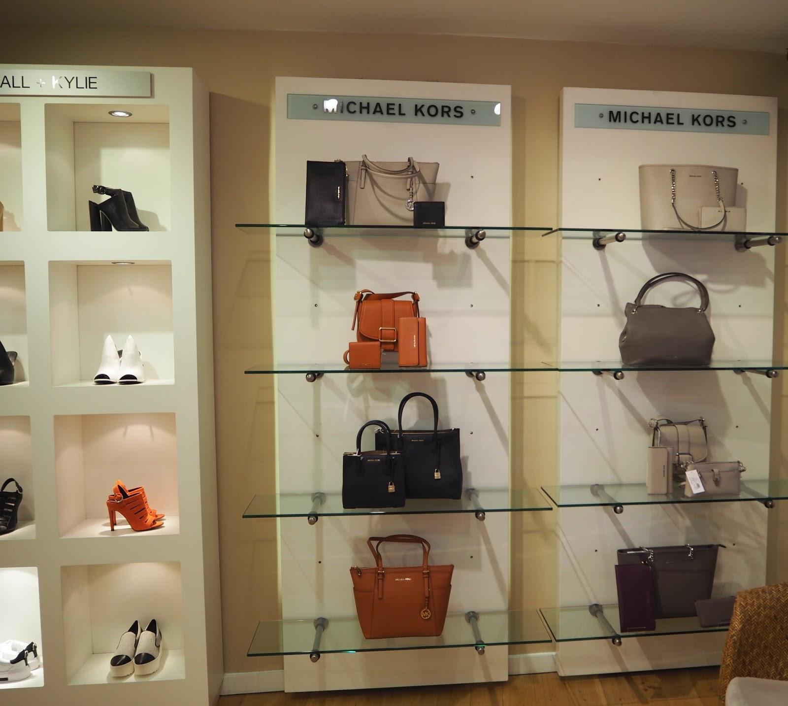 Designer labels, Michael Kors, Kendall and Kylie at Jules B, Kendal