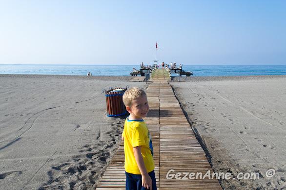 Sarıgerme plajı, Hilton Dalaman otel