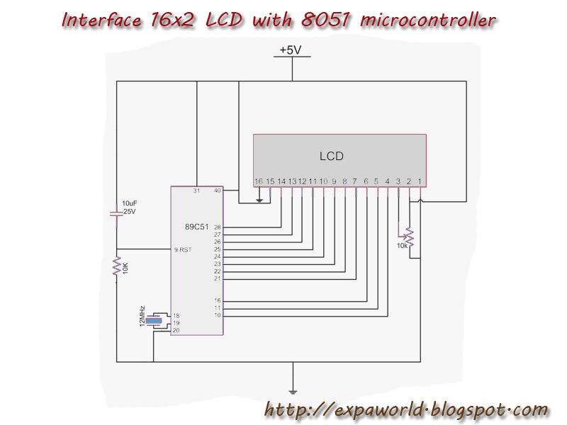 Lcd based digital clock using 8051 microcontroller at89c51