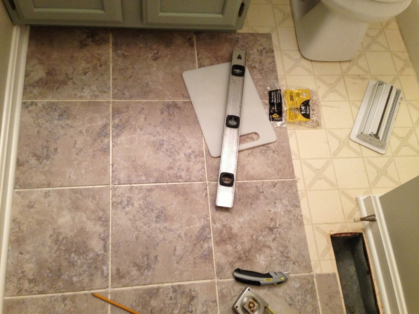 A Amp O On The Go Peel And Stick Tile Floor