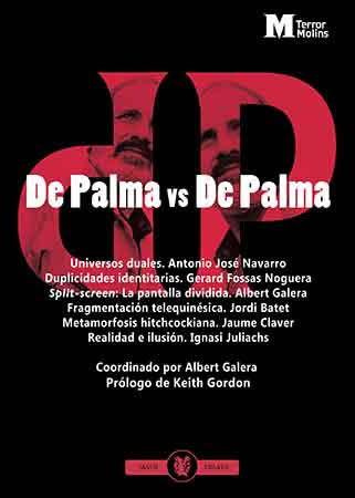 De Palma vs De Palma Cubierta del libro editado por Hermenaute