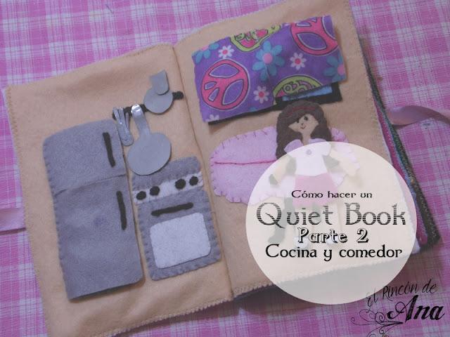 Cómo hacer un Quiet Book (Segunda Parte)